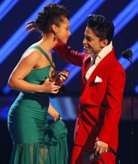 Old friends, Prince & Alicia Keys