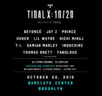 TIDAL X: 10/20