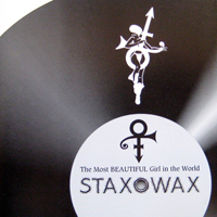 Staxowax single from The Beautiful Experience, NPG Records / Bellmark Records (1994)