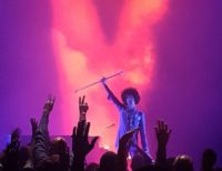 Final show – Prince photographed at Fox Theatre, Atlanta, 14 April 2016