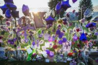 Fan tributes at Paisley Park
