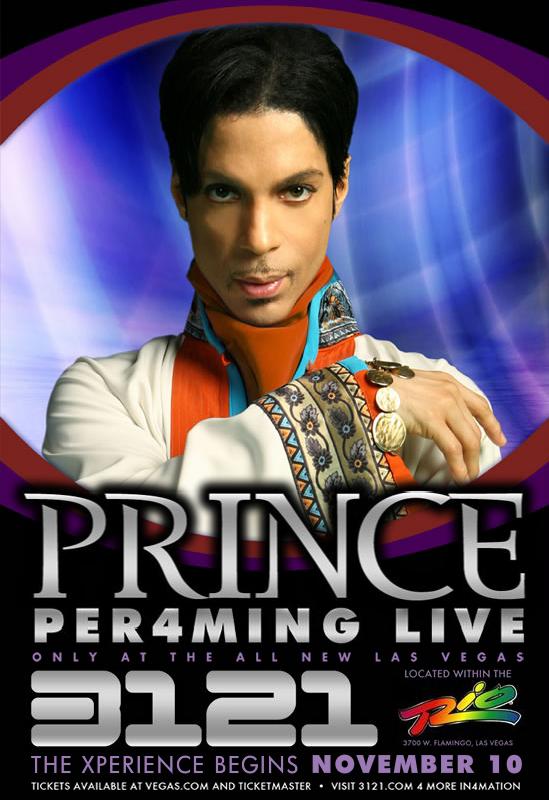 Prince's Vegas vacation