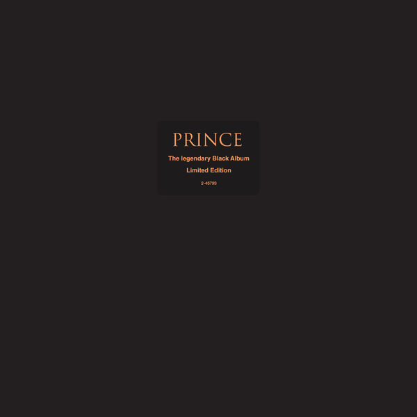 The Black Album, Prince