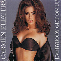 Everybody Get On Up single from Carmen Electra, Paisley Park Records (1993)