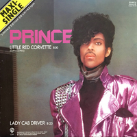 Little Red Corvette [Maxi Single] single from 1999, Warner Bros. Records (1983)