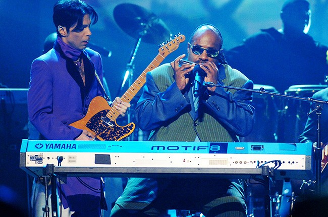 Prince and Stevie Wonder play private White House party