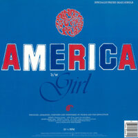 America [Maxi Single] single from Around The World In A Day, Paisley Park Records (1985)