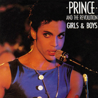 Girls & Boys single from Parade, Paisley Park Records (1986)