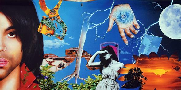Graffiti Bridge (full artwork) | Prince