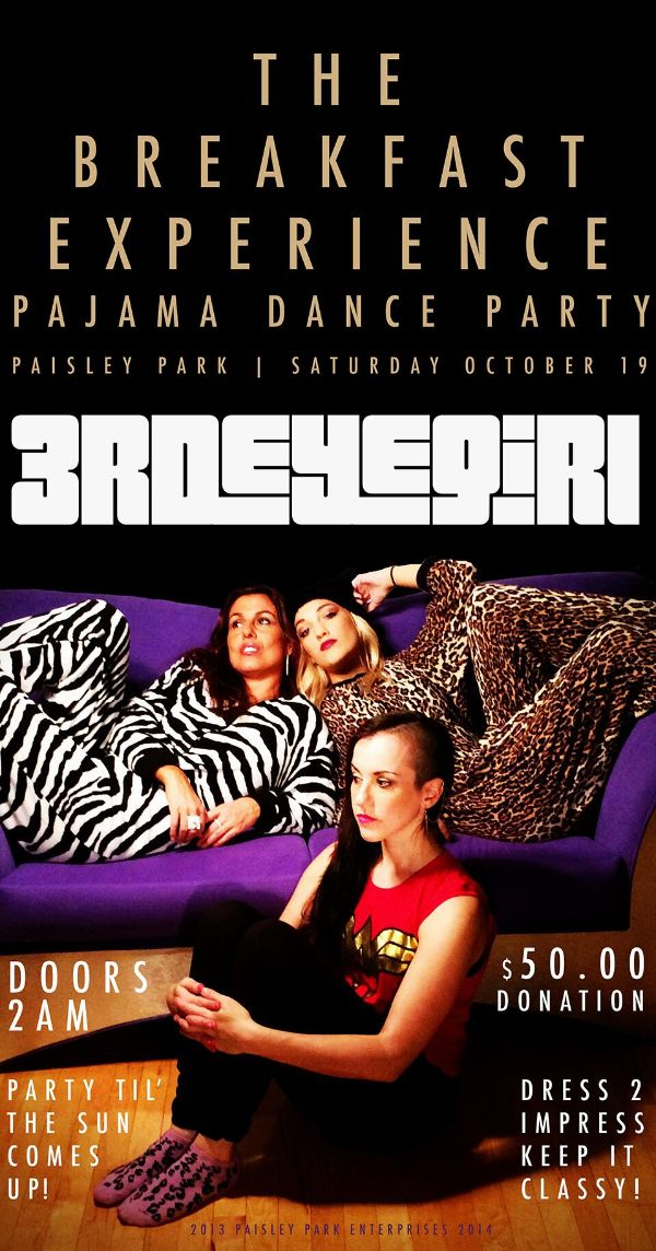 Paisley Park Pajama Party and The Sweeter She Is Twitter freebie
