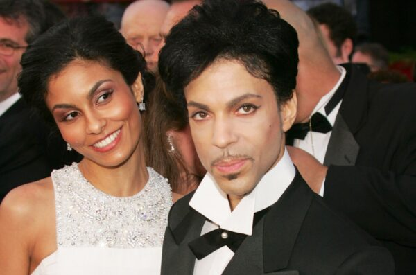 Prince attends Oscars