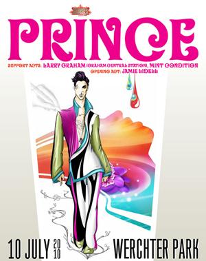 20Ten Tour, Prince