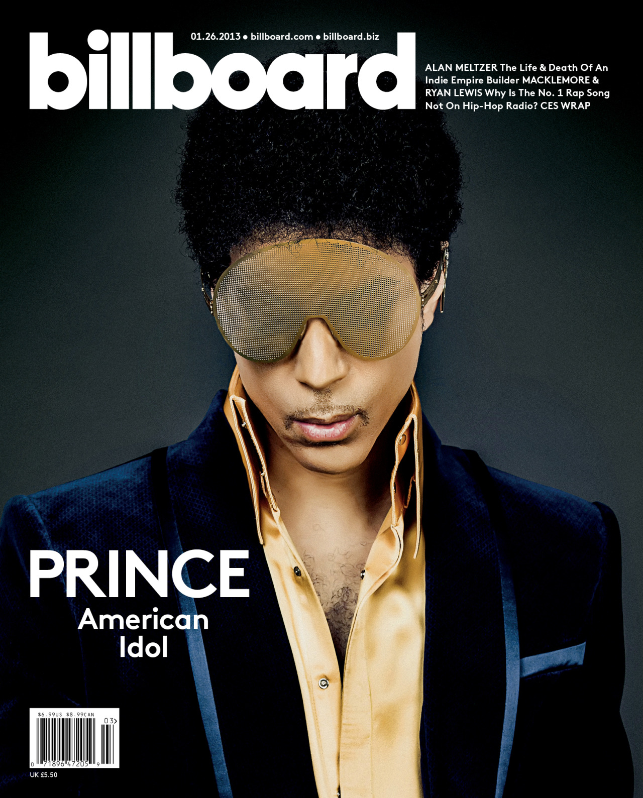 'Icon' Prince to receive honour at 2013 Billboard Music Awards