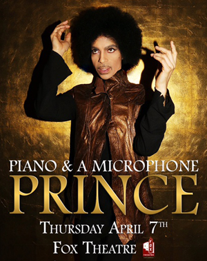 Piano & A Microphone Tour, Prince