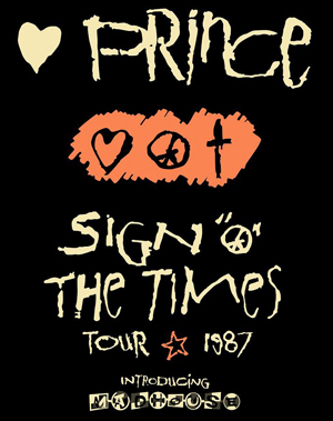 Sign O' The Times Tour, Prince
